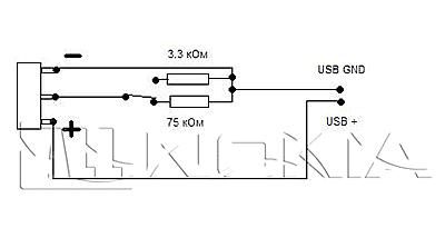 Схема устройства для снятия блокировки
