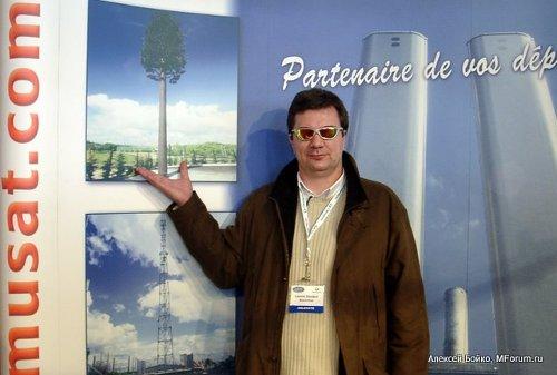 Леонид Денисов, МегаФон-Москва, предлагает устанавливать в Москве декоративные вышки сотовой связи