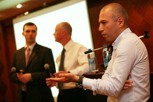 Пресс-конференция Yota в Санкт-Петербурге, посвященная коммерческому запуску сети 04.06.09