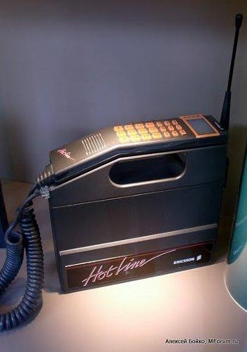 А вот уже более компактный аппаратик Ericsson