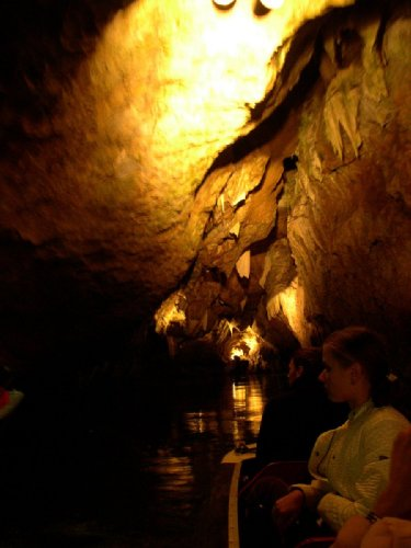 Пещеры в Моравском красе - Пунква