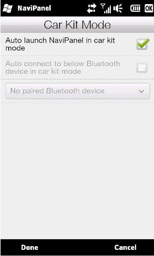 HTC HD2 car kit