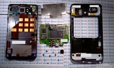 HTC HD2 разобрали