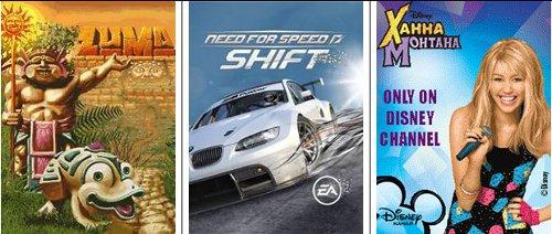 Мобильные игры, рейтинг за октябрь 2009