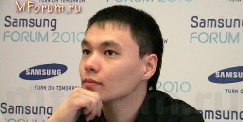 Budegechiev Oleg, менеджер по продуктам  Samsung