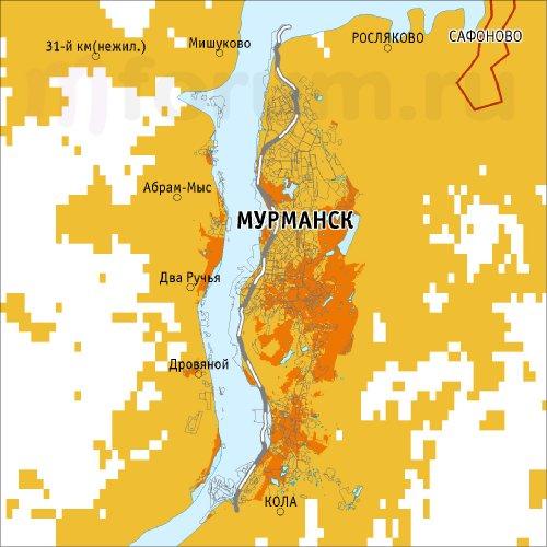 3G, Билайн, Мурманск