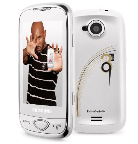 "Samsung S5560 ""специальное издание"" Player 5 Anelka"