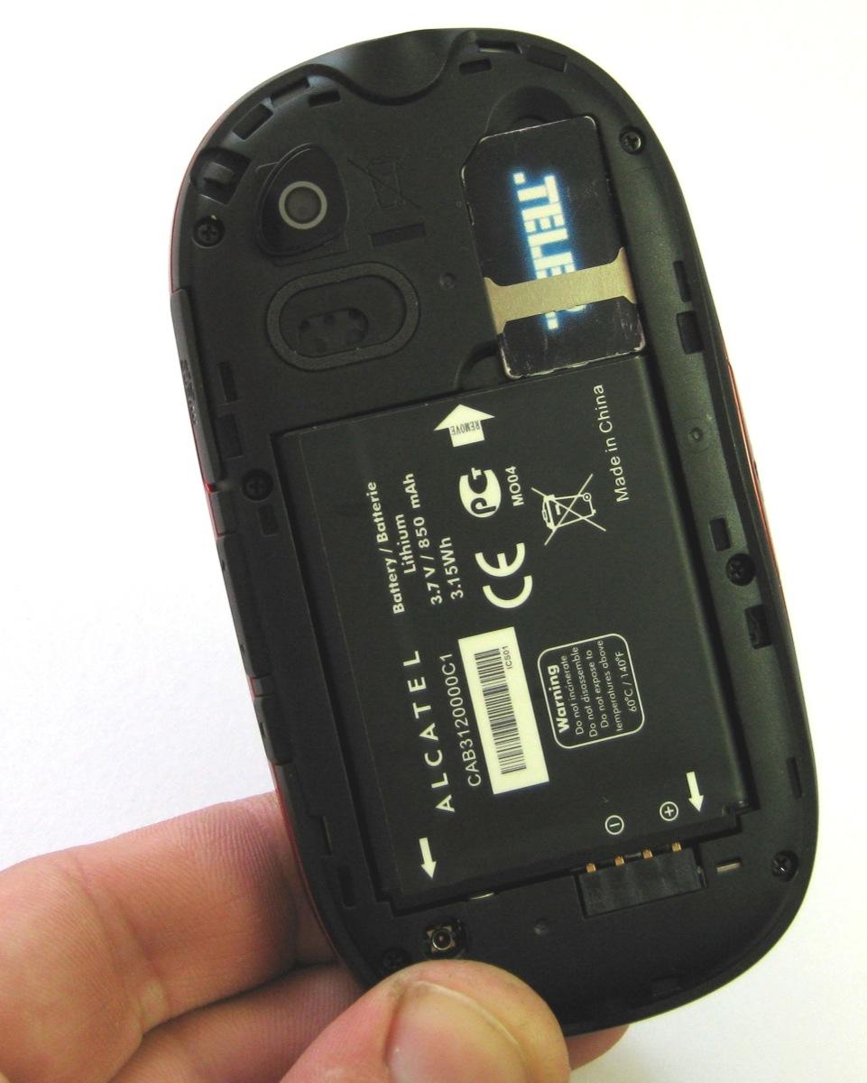 Alcatel батарея 8