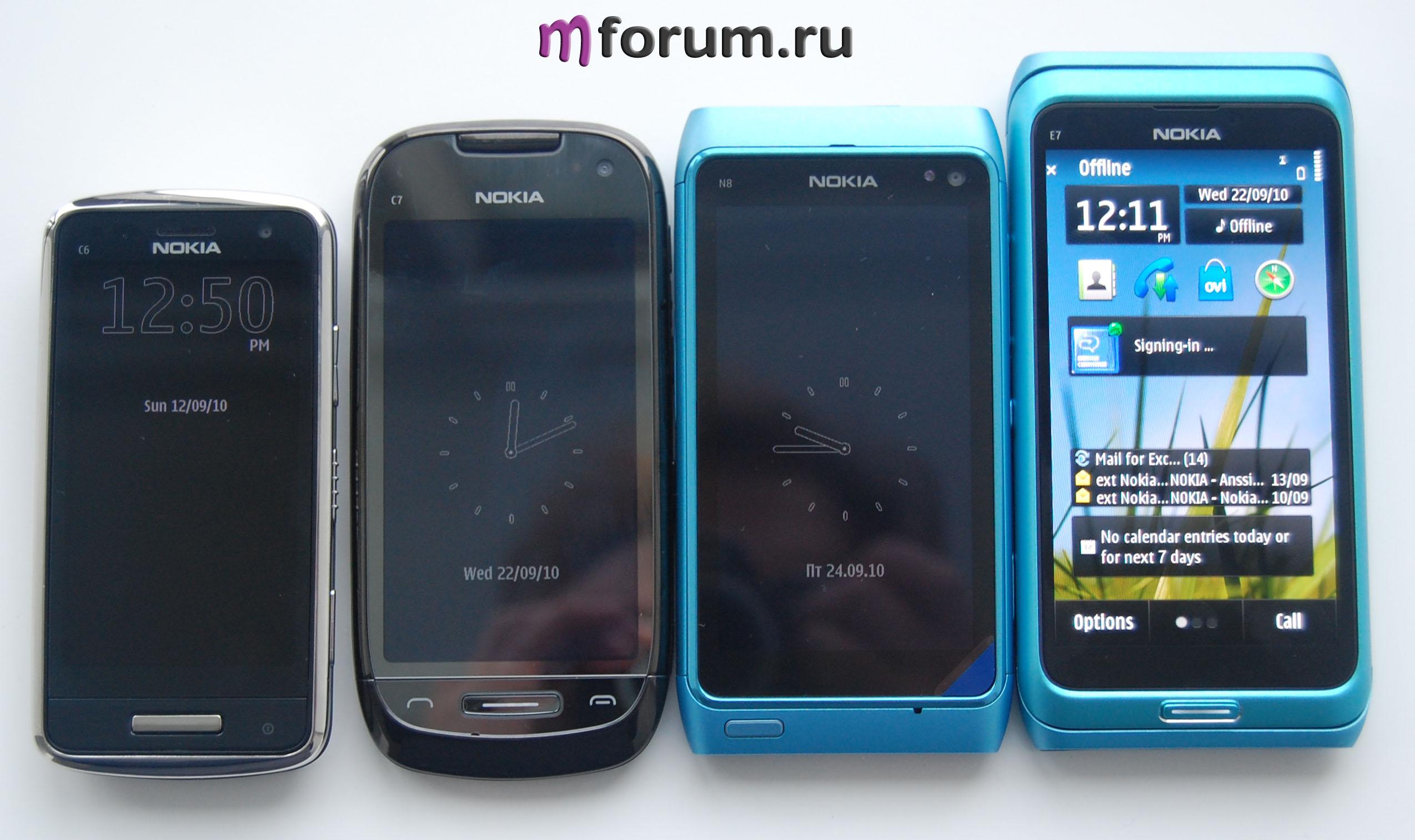 первое знакомство с windows phone