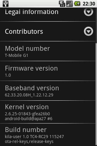 HTC G1 - для небогатых «самоделкиных»
