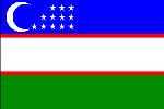 Узбекистан, флаг