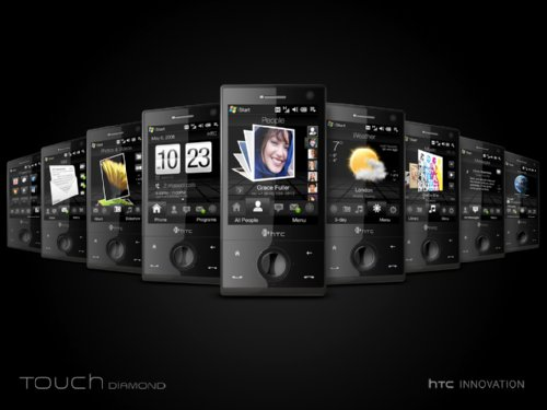 HTC Touch Diamond – мой высокотехнологичный бриллиант