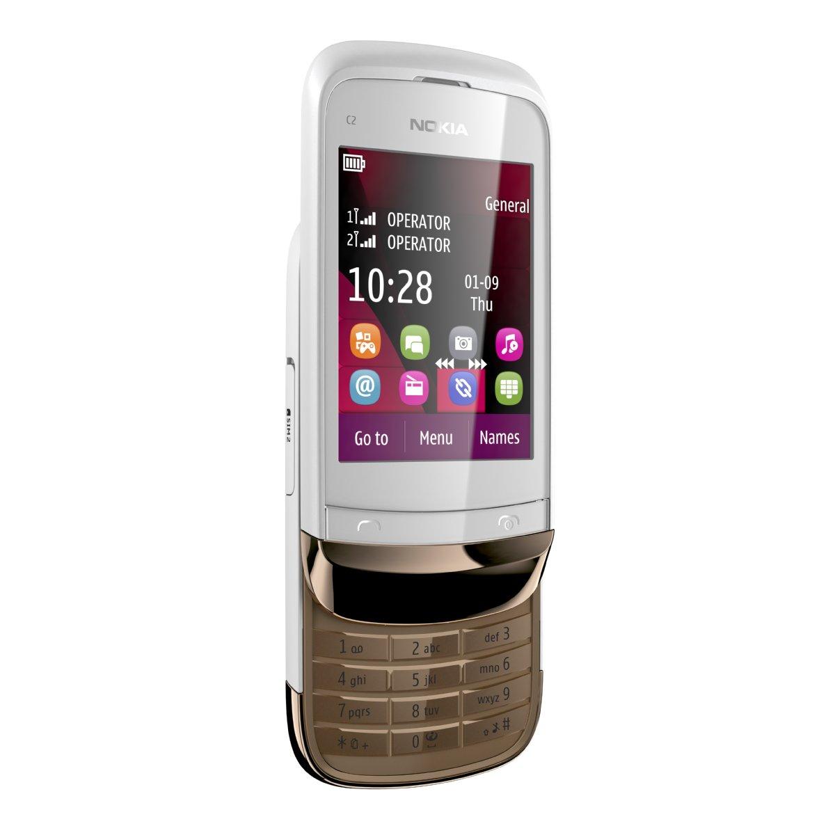Nokia C2-03. Фото