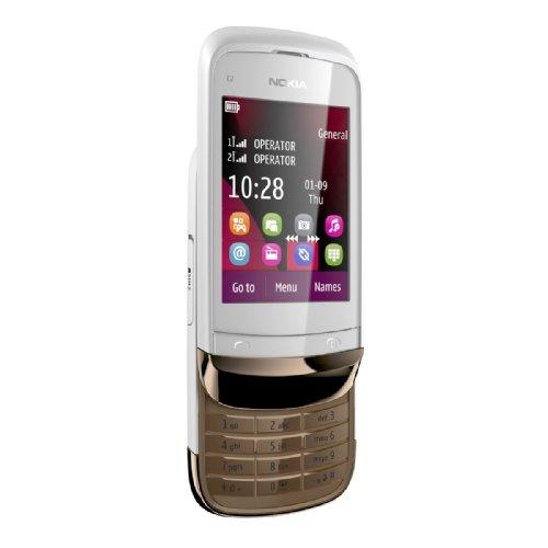 Nokia представляет новинку Nokia C2-03 - модель с уникальными для двухсимочных телефонов характеристиками.