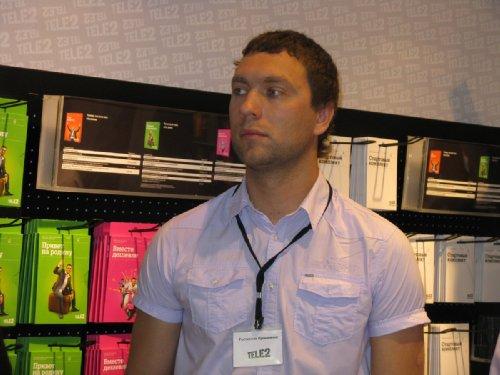 Прокопенко Ростислав, технический директор Tele2 (Краснодарский край)