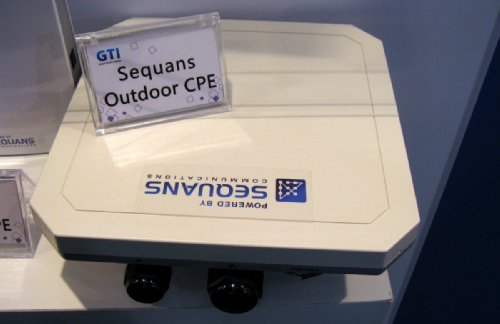 Sequans based outdoor CPE TD-LTE