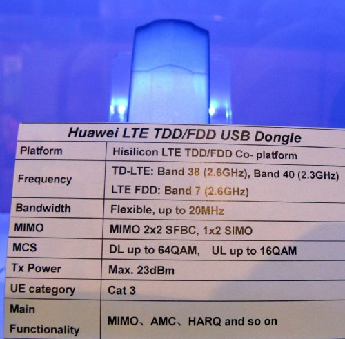 Huawei на чипе Hisilicon - USB-модем TD-LTE / FDD-LTE