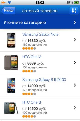 Товары Mail.Ru для iPhone