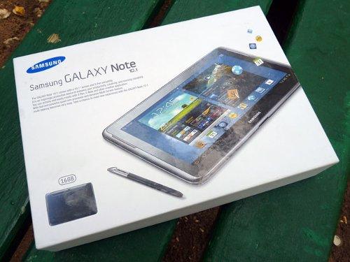 Обзор Galaxy Note 10.1