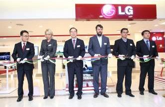 LG открывает в Москве фирменный магазин
