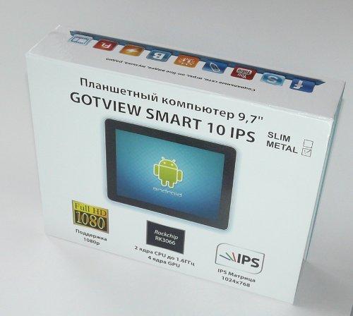Планшеты GOTVIEW SMART 10 IPS METAL и SLIM – два брата-силача