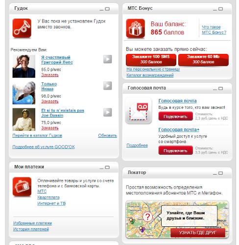 Обзор сервиса «Личный кабинет» компании МТС: комплексное решение