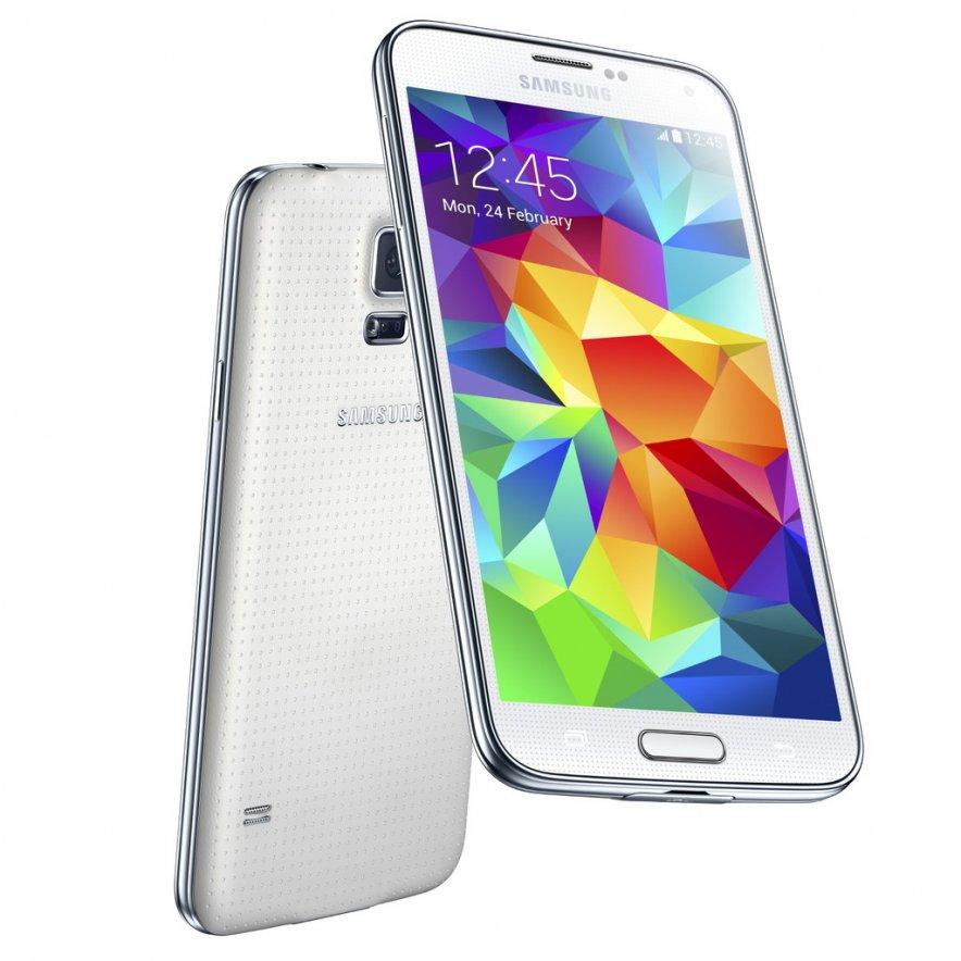 Samsung Galaxy S5 собственной персоной.