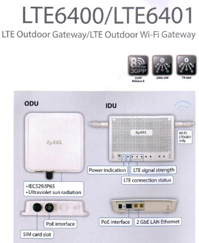 ZyXEL LTE6400 / ZyXEL LTE6401