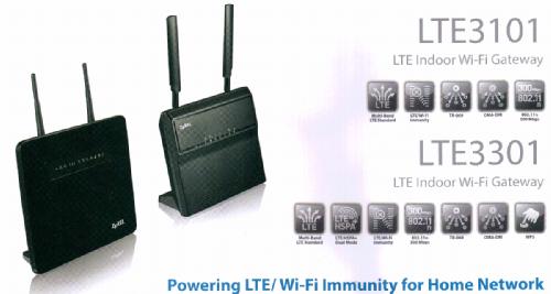 ZyXEL LTE3101 и LTE3301