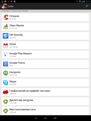 Обзор приложений Clean Master, CM Security и бета-версии CCleaner для операционной системы Android