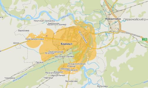 Билайн LTE в Барнауле