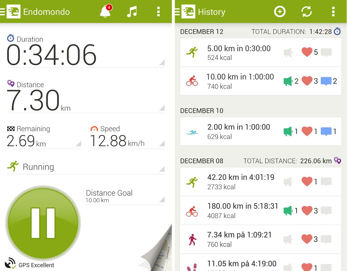 Скачать приложения для спорта на андроид