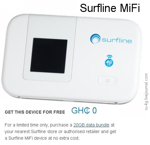 Surfline MiFi