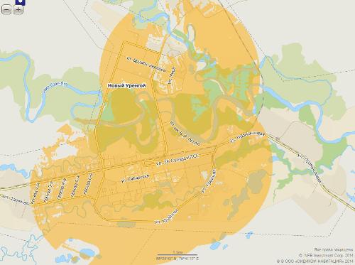 Билайн LTE в Новом Уренгое