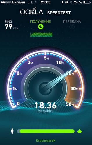 Билайн LTE в Красноярске