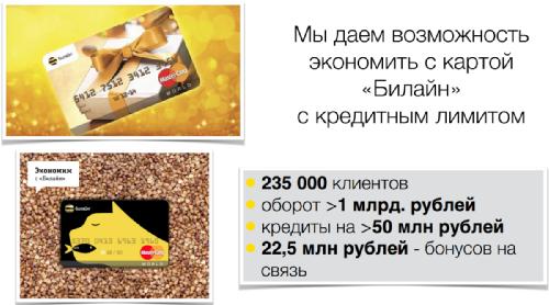 Итоги 2014 года, Билайн, Россия