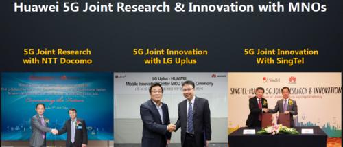 Huawei и сотрудничество с операторами в области 5G