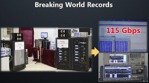 Бьем мировые рекорды скорости передачи