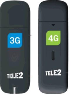 Модемы Tele2 / ZTE