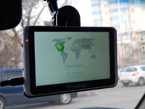 Обзор навигатора Prestigio GeoVision 5800BTHDDVR