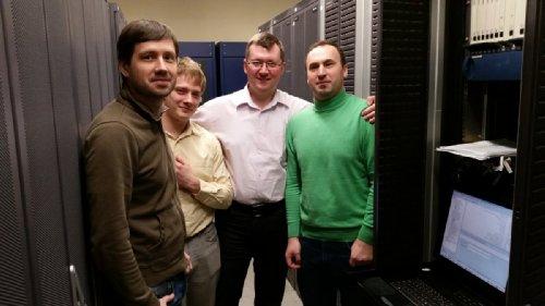 Билайн: Дмитрий Ковтун, Евгений Абрамов, Дмитрий Жарков, Александр Карзанов