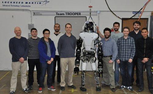 Команда Trooper и робот ATLAS