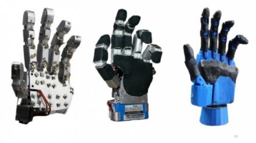 Прототип робопротеза кисти руки