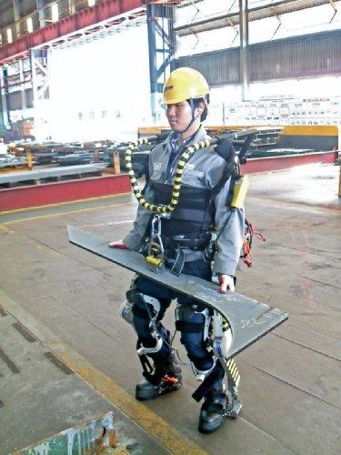 Прототип экзоскелета Daewoo