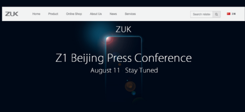 Анонсы: Объявлены спецификации ZUK Z1