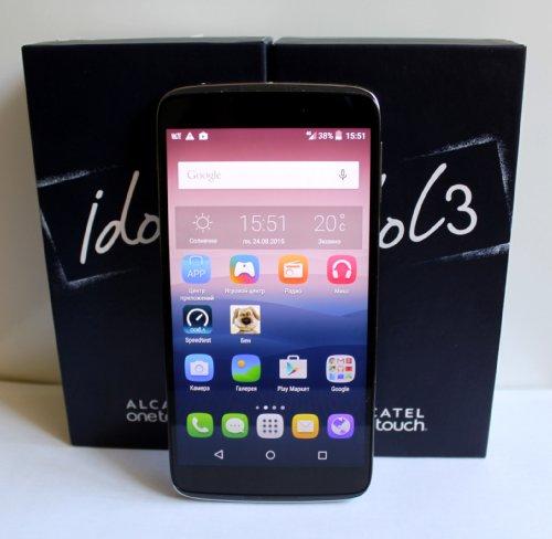 Alcatel OneTouch Idol 3 – первый аппарат с поддержкой передачи голоса в сетях четвертого поколения