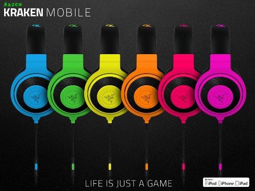 IFA 2015:  Razer Kraken Mobile – гарнитура в ярких расцветках для iPhone/iPod/iPad