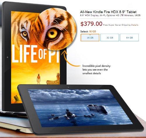 Планшеты Amazon – прошлое и настоящее