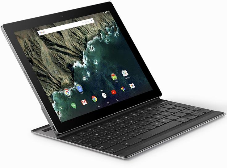 Анонсы Google Pixel C – планшетный компьютер с клавиатурной док-станцией