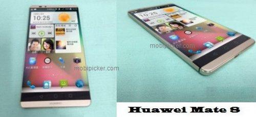 Опубликованы пресс-фото Huawei Mate 8 + живые фото